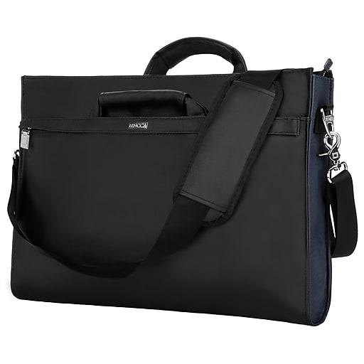 2ca1d3272ac6 Lencca Messenger Bag Notebook Case fits 15.6 Inch Laptop, Black  (PT_LENLEA112_13)