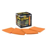 "Post-it® Extreme Notes, 3"" x 3"", Orange, 12 Pads/Pack (EXTRM33-12TRYO)"