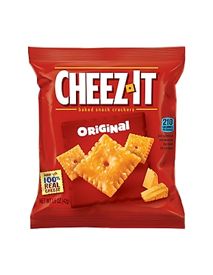 Cheez-It Baked Crackers Orginal, 8 Count 1.5 oz Bags (Cheez-It)