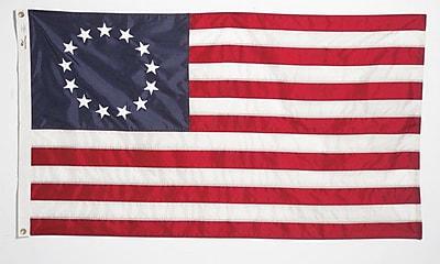 U.S. Flag Store Betsy Ross Flag 3' x 5' Nylon (60-100-04035)