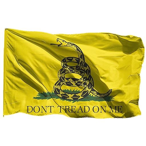 U S  Flag Store US Flag Store 2ft x 3ft Gadsden Flag (60-100-84144)