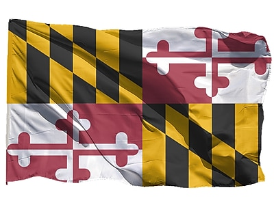 U.S. Flag Store Maryland State Flag, 3' x 5', Nylon (64-100-10040)