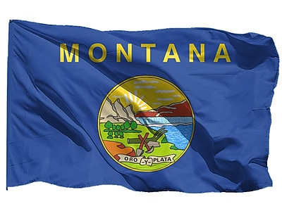 U.S. Flag Store Montana State Flag, 3' x 5', Nylon (64-100-10052)