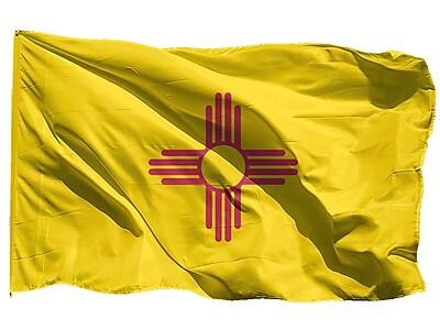 U.S. Flag Store New Mexico State Flag, 3' x 5', Nylon (64-100-10062)