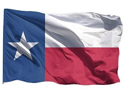 U.S. Flag Store Texas State Flag, 3' x 5', Nylon (64-100-10086)