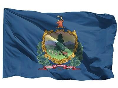U.S. Flag Store Vermont State Flag, 3' x 5', Nylon (64-100-10091)