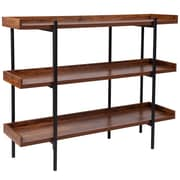 "Flash Furniture HERCULES Series 18"" Storage Shelf, Rustic (JN2542B3)"