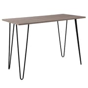 Flash Furniture Oak Park Collection Console Table, Driftwood (NANJH1702)