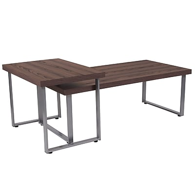 Flash Furniture Roslindale Coffee Table, Rustic (NANJH1730)