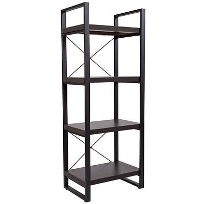 Flash Furniture HERCULES Series 23.75inch Bookshelf, Charcoal (NANJH1734)