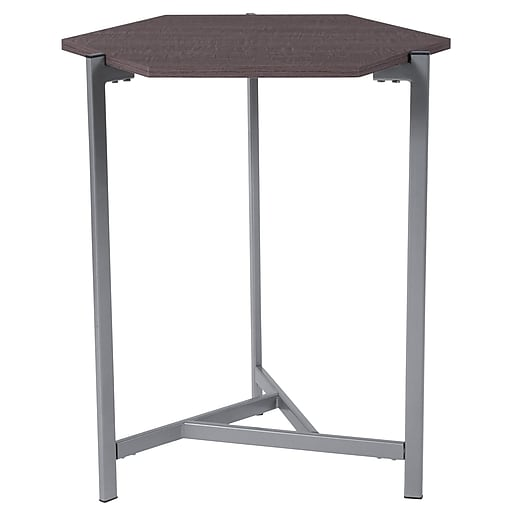 Flash Furniture Back Bay End Table, Rustic (NANJH1757)