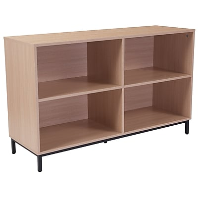 Flash Furniture HERCULES Series 24inch Bookshelf, Oak (NANJH1764)