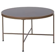 Flash Furniture Chelsea Collection Coffee Table, Black/Matte Gold (NANJN21751CT)