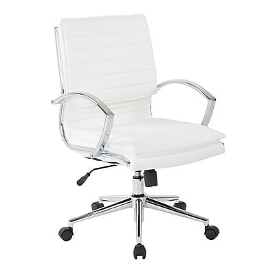 Free 24 H del faux leather Staples Ormond Executive Office//Manager/'s Chair