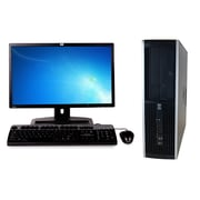 Refurbished HP 6005 Pro Sff AMD X2 B24 3.0Ghz 8GB Ram 750GB Hard Drive DVD Windows 10 Pro Bundled With 19 Lcd Monitor