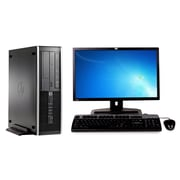 Refurbished HP Elite 8300 Sff Intel Core I5 3470 3.2Ghz 8GB Ram 250GB Hard Drive Windows 10 Pro Bundled With 19 Lcd Monitor
