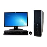 Refurbished HP 6005 Pro Sff AMD X2 B24 3.0Ghz 8GB Ram 750GB Hard Drive DVD Windows 10 Pro Bundled With 17 Lcd Monitor