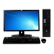 Refurbished HP Dc5800 Sff Core 2 Duo E2200 2.2Ghz 8GB Ram 2Tb Hard Drive DVDRW Windows 10 Home Bundled With A 19 Lcd Monitor