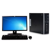 Refurbished HP Elite 8200 Sff Intel Core I5 2400 3.1Ghz 8GB Ram 250GB Hard Drive Windows 10 Home Bundled With 19 Lcd Monitor