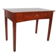 "Alaterre Shaker Cottage 40"" Wide Writing Desk, Cherry Finish (ASCA0660)"