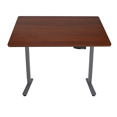 Loctek Inc Standing Desk Top Board, Mahogany (B2N)