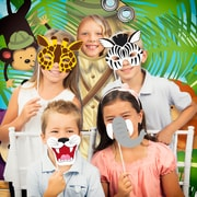Creative Converting Jungle Animals Photo Booth Kit (DTC5520C1P)