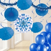 Creative Converting Colbalt Blue Party Decorations Kit (DTCCOBLT1A)