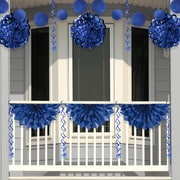 Creative Converting Blue Foil Party Decorations Kit (DTCFLBBL1A)