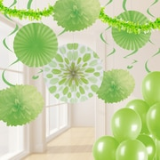 Creative Converting Fresh Lime Green Party Decorations Kit (DTCFRLME1A)