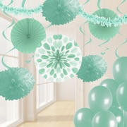 Creative Converting Mint Green Party Decorations Kit (DTCFRMNT1A)