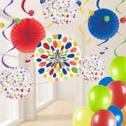 Creative Converting Multicolor Party Decorations Kit (DTCMULTI1A)