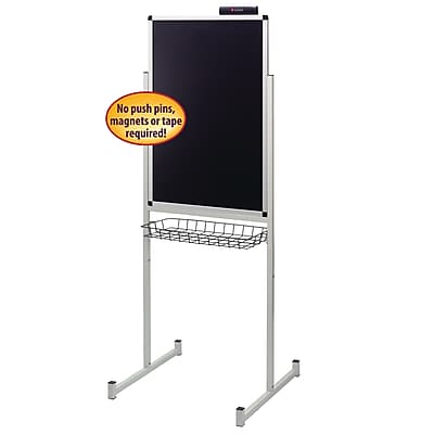 Justick Single Side Promo Stand with Electro Surface Technology, 24