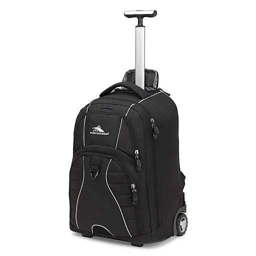 High Sierra Freewheel Backpack, Black (53991-1050)