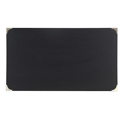 HomeBelle Vulcan Black Finish X-Base Box Desk (78E581AV3A)