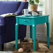 HomeBelle Marine Green Finish Side Table (78E712AMG3A)