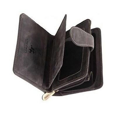 Visconti Tan Hunter 715 Mens Bifold Wallet with Zipper Coin Purse (715 TAN) (24301120) photo