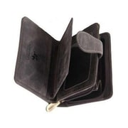 Visconti Tan Hunter 715 Mens Bifold Wallet with Zipper Coin Purse (715 TAN)