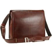 Visconti VT7 Stylish Quality Vintage Tan Soft Genuine Leather Messenger Bag Cross-Body (1219VT7BR)