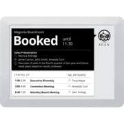 Visionect JOAN 9.7in Meeting Room Scheduler, Gray