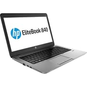 "Refurbished HP Elitebook 840 G1 Laptop Intel Core i5 4300M 1.9GHz 4GB 120GB Solid State Drive 14"" Screen Windows 10 Home"
