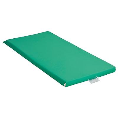 ECR4Kids Rainbow Rest Mat, 5-Piece, Emerald (ELR-0573-EM)