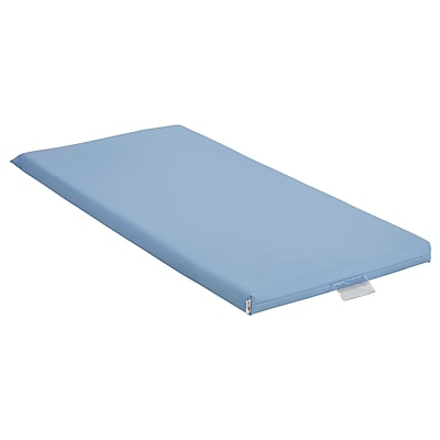 ECR4Kids Rainbow Rest Mat, 5-Piece, Powder Blue (ELR-0573-PB)