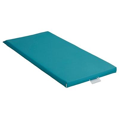 ECR4Kids Rainbow Rest Mat, 5-Piece, Sea Foam (ELR-0573-SF)