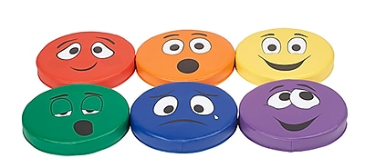 ECR4Kids SoftZone® Expression Cushions Set of 2, 6-Piece (ELR-12688)