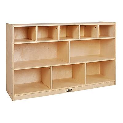 ECR4Kids Birch 5+5 Storage and Tray Cabinet (ELR-17255)