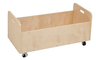 ECR4Kids Seating Cushions Storage Cart with Casters (ELR-17509)