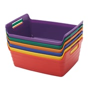 ECR4Kids Small Bendi-Bin with Handle, Assorted (ELR-20516-AS)