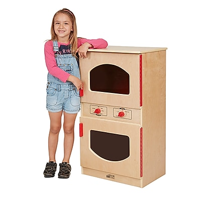 ECR4Kids Birch Play Kitchen, Washer/Dryer (ELR-0442)