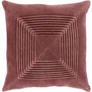 """Surya Akira Pillow Kit, 18""""H x 18""""W x 4""""D, Camel (AKA003-1818P)"""