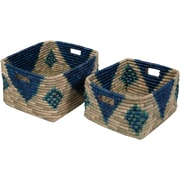 Surya Ferry Basket Set, Navy (FRY001-SET)